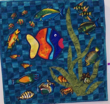 Big Fish in a Little Pond by Marva Swanson