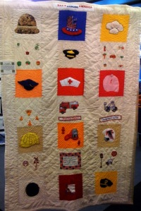 Hats Across America by H.J.C. Bowden Senior Multipurpose Facility Quilters, 2009.