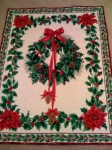 Christmas Cheater quilt.2007