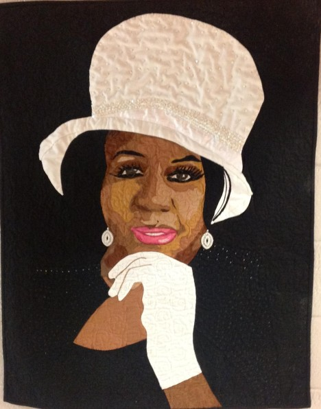 R.E.S.P.E.C.T. by Aisha Lumumba, Winner of Best of Show at the 2012 Atlanta Quilt Festival.