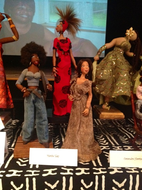 Dolls at the 2012 Atlanta Quilt Festival