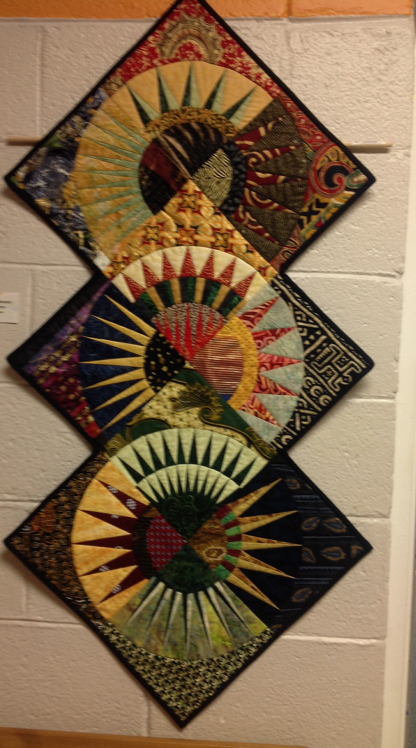 New York Beauty Goes To Africa Wins Best Traditional Quilt