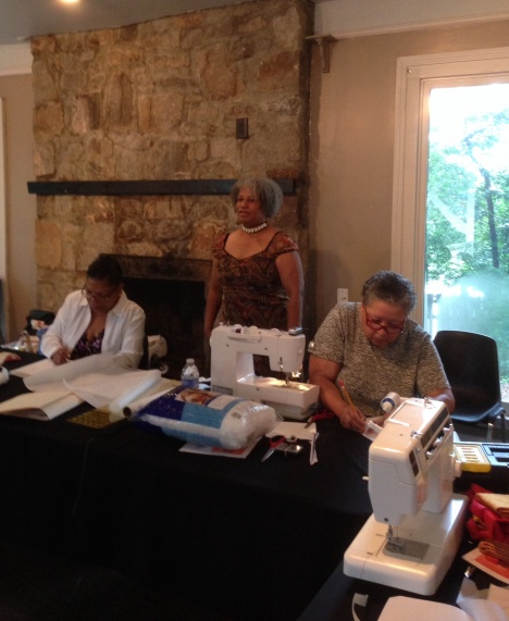 Dollmaking class taught by Cookie Patterson at Hammonds House Museum