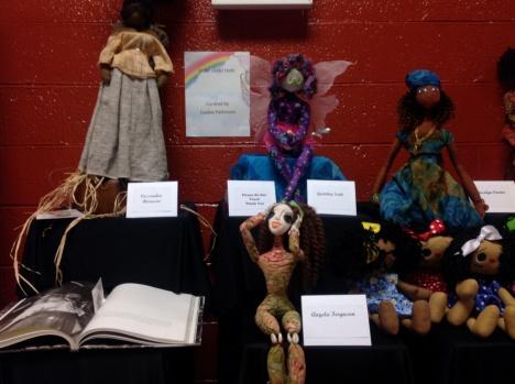 Doll exhibit at 2014 Atlanta Quilt Festival