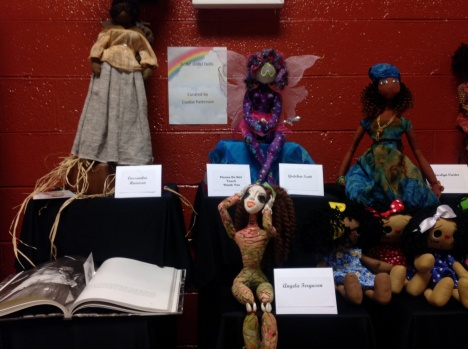 Doll exhibit at 2014 Atlanta Quilt Festival